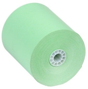 "3 1/8"" x 230'  (80mm x 70m)  Thermal Paper  (50 rolls/case) - Green"