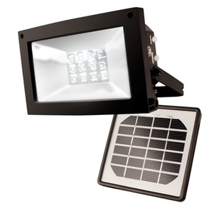 Maxsa 40330 High Output Solar Flood Light - Solar Landscape Light