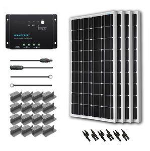 Renogy 400 Watt 12 Volt Monocrystalline Solar Kit