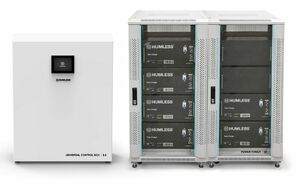 Humless Universal 30.85 Battery Backup System - Grid-Tied and Off-Grid Panel Compatibility