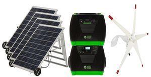 Natures Generator Elite Solar and Wind Generator - Platinum Kit