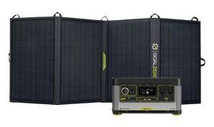 Goal Zero Yeti 500X Portable Solar Generator Kit with Nomad 50 Solar Panel
