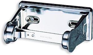 Locking Toilet Tissue Dispenser Single Roll - Chrome