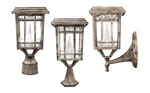 Prairie Solar Lamp - Solar Powered Light for Porches, Balconies and Decks
