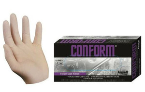Conform Premium Powdered Latex Gloves (Medium)  <font color=red>*Clearance Item*</font>