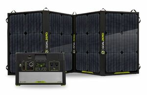 Goal Zero Yeti 1000 Lithium Portable Solar Generator Kit with Nomad 100 Foldable Solar Panel