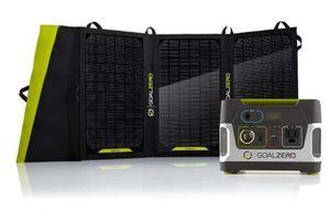 Goal Zero Yeti 150 Solar Generator Kit  with 20 Watt Solar Panel