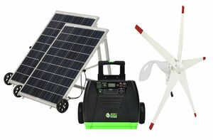 Natures Generator Elite Solar and Wind Generator - Gold Kit