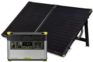 Goal Zero Yeti 1500X Portable Solar Generator with Boulder 100 Briefcase Panel
