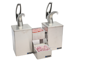 Frontline Dual Countertop System - Metal Finish Pump