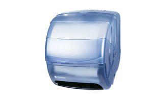 Integra Lever Roll Towel Dispenser - Arctic Blue