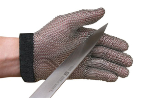 Steel Mesh 5 Finger Cut-Resistant Gloves