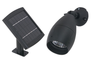 bright solar flood light with surface mount 12 leds