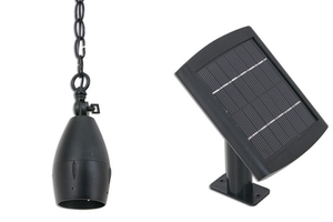 Solar Pendant Light with 3 Foot Chain