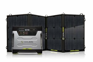 Goal Zero Yeti 1250 with Nomad 100 Watt Portable Solar Panel