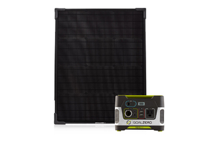 Goal Zero Yeti 150 Portable Power Station & Boulder 50 Solar Panel Kit