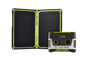 Goal Zero Yeti 150 Portable Power Station & Nomad 14 Plus Solar Panel Kit