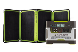 Goal Zero Yeti 400 Portable Power Station & Nomad 28 Plus Solar Panel Kit