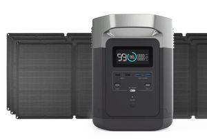 EcoFlow Delta 1300 Solar Generator Kit with 330 Watts of Solar