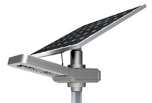 Earthtech Products All-In-One Led Commercial Solar Street Light - 30 Watt (3600-4200 Lumen)