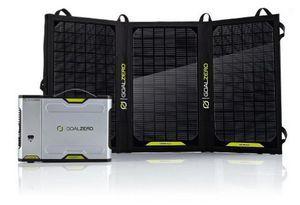 Goal Zero Sherpa 100 Solar Kit with AC Inverter