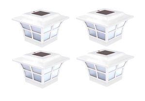 Set of 4 Prestige Solar Post Cap for 4x4 Posts