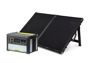 Goal Zero Yeti 400 Lithium Portable Power Station with Boulder 100 Briefcase