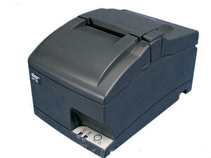 Star Micronics SP712ML GRY US - Impact Printer, Tear Bar, Ethernet, Gray, Internal UPS