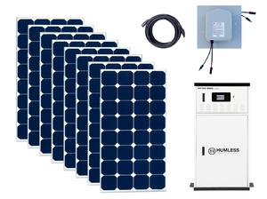 Earthtech Products 12 kWh Solar Generator Kit with 2,640 Watts of Solar for Homes and Off-Grid