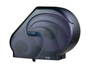 "Reserva Toilet Paper Dispenser 9"" - 10 1/2"" JBT - Oceans - Black Pearl"