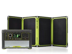 Goal Zero Yeti 400 Lithium Portable Power Station with Nomad 28 Solar Panel
