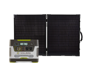 Goal Zero Yeti 400 Portable Power Station & Boulder 100 Briefcase Solar Panel Kit