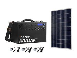 Kodiak Lightweight Bronze Portable Solar Generator Kit