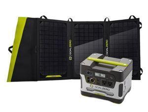 Goal Zero Yeti 400 Solar Generator Kit - Portable Solar Generator for Medium Appliances