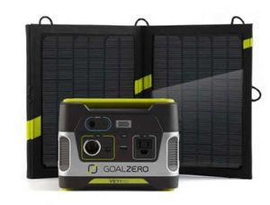 Goal Zero Yeti 150 Solar Generator with 13 Watt Solar Panel