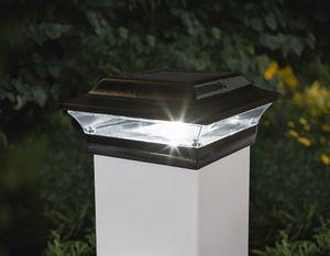 Imperial Black Solar Post Cap for 5x5 Post