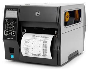 "Zebra ZT420 Industrial Label Printer - 6"" Print Width, 203 DPI, Rewind"