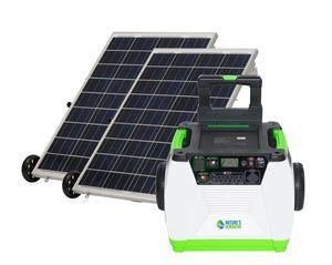 Natures Generator Portable 1800 Watt Solar Generator Kit with 200 Watts of Solar
