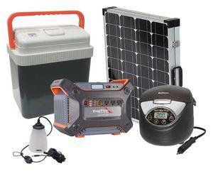Earthtech Products 1200 Lightweight Solar Generator Essentials 12V Kit
