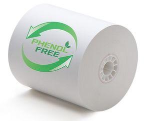 "3 1/8"" x 230'  (80mm x 70m) BPA & BPS Free Thermal Paper (25 rolls/case) - Phenol Free"