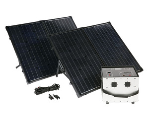 Humless GO Mini 1500 Series .64 kWh Solar Generator with 1500 Watt Inverter & 260 Watts of Solar Panels