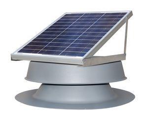 Solar Attic Fan - 30 Watts - 2500 sq ft