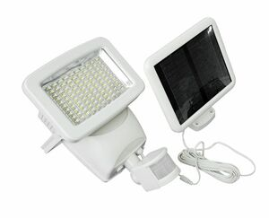 Super Bright 100 LED Solar Motion Security Light - 600 Lumens