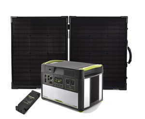 Goal Zero Yeti 1400 Lithium Portable Solar Generator Kit with MPPT & Boulder 100 Briefcase