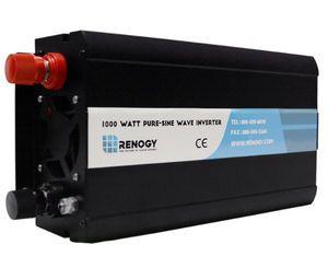 Renogy 1000 Watt 12V - 110V Pure Sine Wave Inverter with Cables
