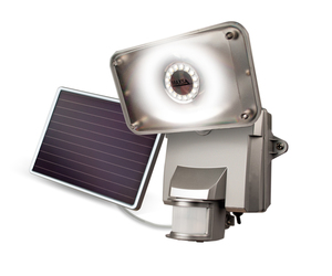 Maxsa High Output Solar Security Light - 878 Lumens