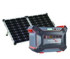 Enerplex 1200 Lightweight Solar Generator Kit with Lithium Battery 1,231 Watt Hours