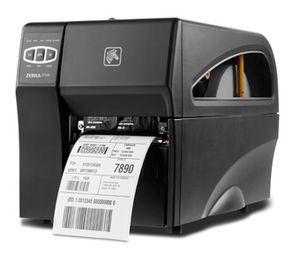 "Zebra ZT220 Industrial Label Printer with Direct Thermal, 4"" Print Width, 300 DPI, Peel, 802.11 A/B/G/N"