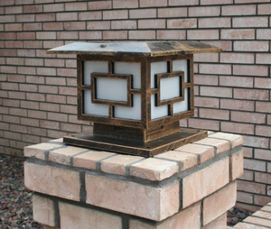 Premium 36 LED Solar Light for Square Posts or Pillars