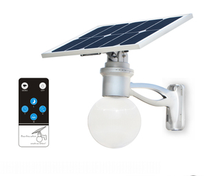 Solar LED Courtyard Light Motion Activated 1500 Lumens to 1800 Lumens